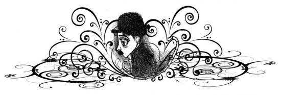 Charlie Chaplin par sanaelle